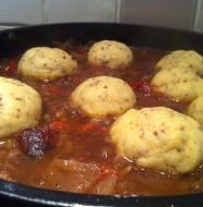 Sausage & Lental Casserole